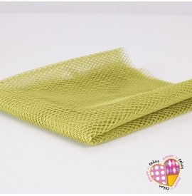 Tela Mesh Apple Green